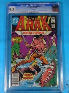 CGC-Comic-graded-9-8-ARAK-son-of-thunder-DC-1-Key-issue