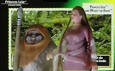 Princess LEIA Collection Wicket EWOK Star Wars 2 Pack 1997  Action Figure Sealed