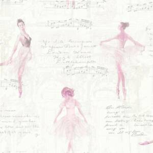 Image Is Loading Pirouette Pink Ballerina Wallpaper By Arthouse Imagine 668200