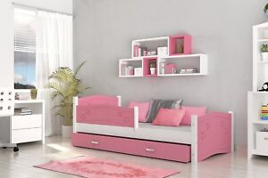 Lovely-Single-Bed-DAISY-for-Children-Kids-Drawer-Mattress-FREE-DELIVERY