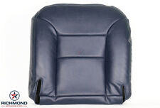 1995-1999 Chevy Silverado LT LS Z71 -Driver Side Bottom Leather Seat Cover Blue