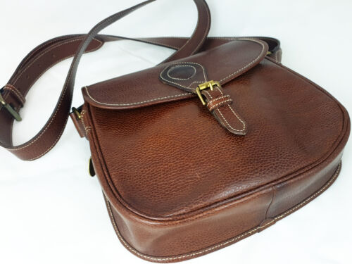 MULBERRY WOMENS VINTAGE BROWN LEATHER CROSSBODY BA