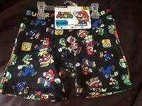 Super Mario Bros Boys Boxer Briefs 2 Pk Sz 6 Small Free S&h
