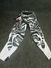 "Fox Racing Blitz Kawsaski motocross/enduro/trail adult pants blk/whi 30""  FOX13"