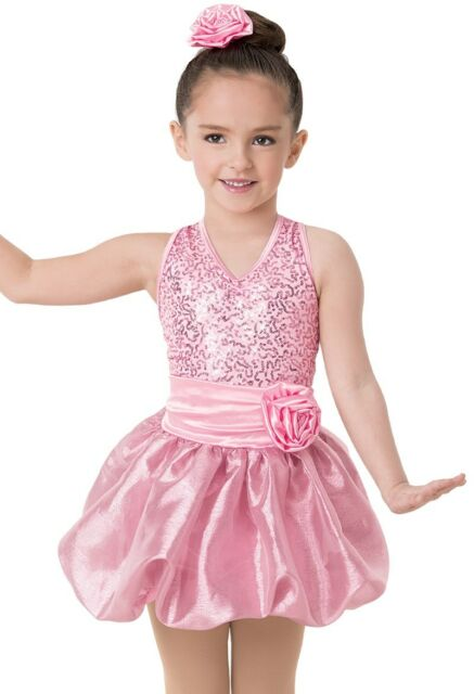ad185abbc Dance Costume Small 6x-7 or Large Child Lavender Pink Sequin Jazz ...