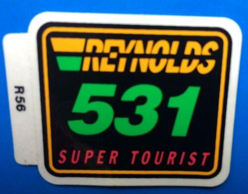 NOS REYNOLDS 531 SUPER TOURISTIQUE Cadre Autocollant original pas REPRODUCTION