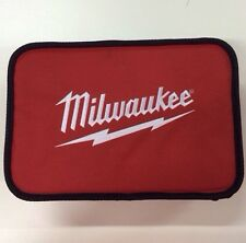 """Milwaukee M12 2401-20 Tool Bag 13"""" Contractor Soft Case Heavy Duty Canvas Tote"""