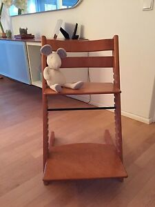 stokke tripp trapp kinderstuhl hochstuhl wie neu top ebay. Black Bedroom Furniture Sets. Home Design Ideas