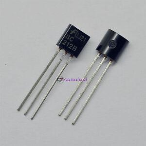 10Pcs 2N5458 Fsc Jfet N-Ch 25V 625Mw TO-92 US Stock q