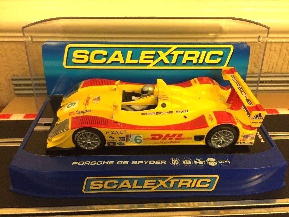 Scalextric Porsche Rs Spyder No6 C2812 Car is Mint Condition Boxed