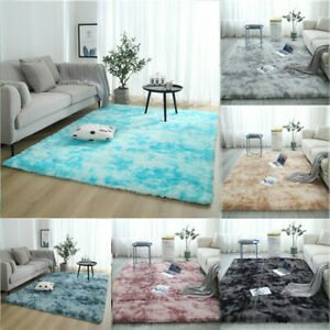 Details About Shaggy Rug Floor Carpet Living Room Bedroom Area Rugs Soft Large Rug Home Decor