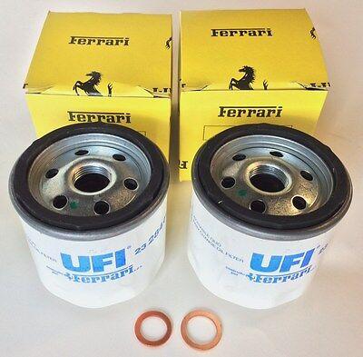 Service Ferrari 550-575 Filter Oil Change Kit Washers # 206166