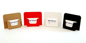 Image Is Loading Cardboard Business Card Holders Counter Table Dispensers Range
