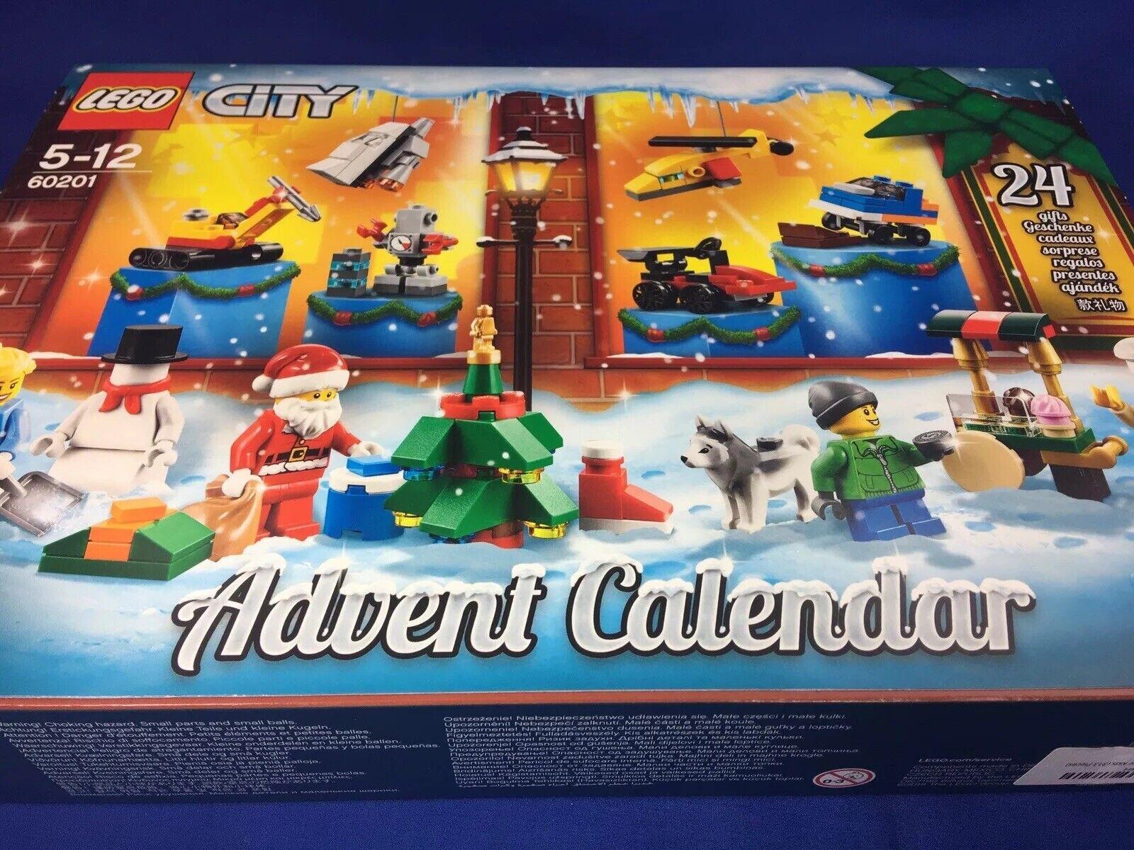 LEGO LEGO LEGO City Advent Calendar 60201, New 2018 Edition, Minifigures Small Buildings dbdd7f