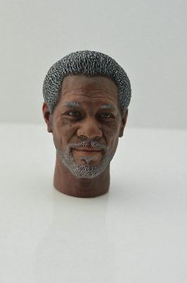 1//6 BELET Morgan Freeman Head Carving For 12/'/' FigureAccessory Instock