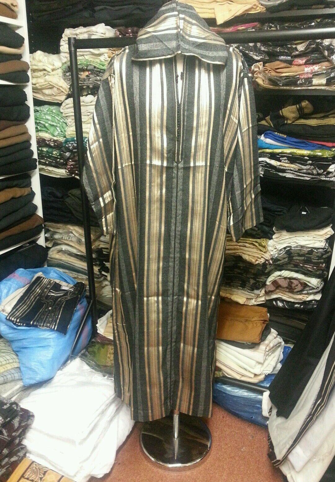 Men Mgoldccan jubba thobe kandorah jalabiya .cotton blend size 54&56.