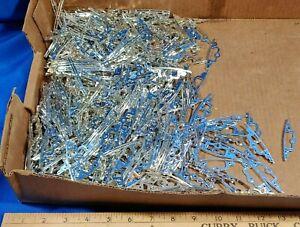 HUGE-LOT-Ertl-1010-Replacement-Part-Silver-Bumper-Plastic-Model-Car-Truck-Toy