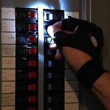 Glove Lite RIGHT HAND LED LIGHT HANDYMAN TOOL Night Fishing Biking Plumber Light
