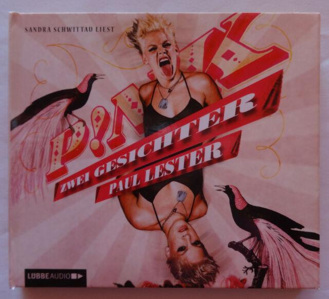 4CDs Pink Zwei Gesichter Paul Lester 2011 Fan Hörbuch Sandra Schwittau Biografie