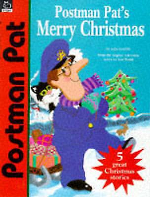 Postman Pat's Merry Christmas (5 great Christmas stories) by Cunliffe, John, Goo
