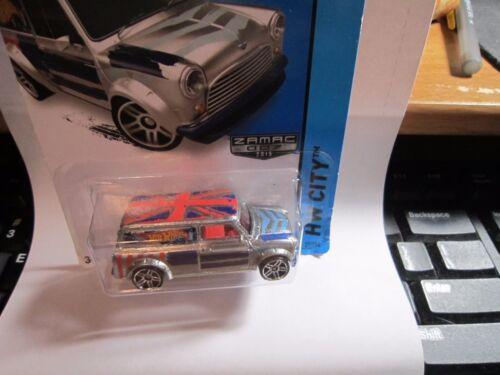 ZAMAC Walmart Hot Wheels 2014 /'67 Austin Mini Van #27