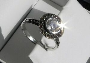 Stunning amp sparkling 925 stamped sterling silver clear stone solitaire ring P5 - Southampton, United Kingdom - Stunning amp sparkling 925 stamped sterling silver clear stone solitaire ring P5 - Southampton, United Kingdom