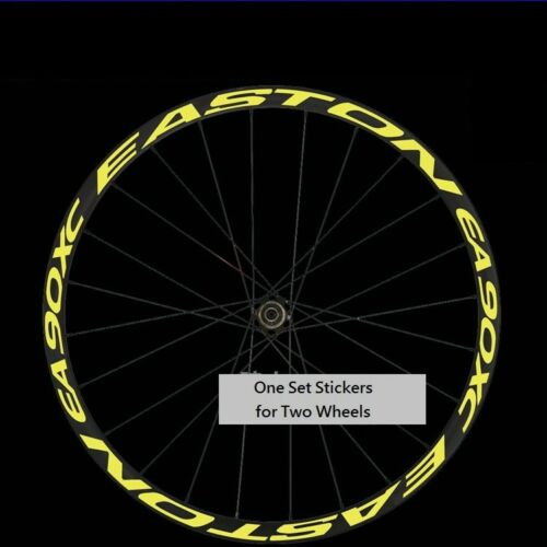 EA 90XC Mountain Bike Wheel Set Rim Stickers for MTB EASTON 90 XC  Race Decals