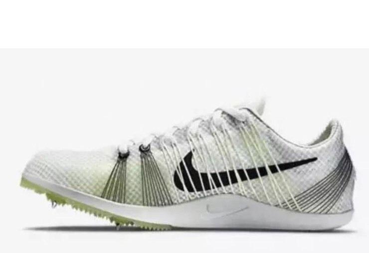 New Mens Nike Zoom Matumbo 2 Spikes Running Shoes White Black Volt 526625-107