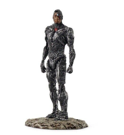 Schleich 22566 Cyborg 11 cm Justice League Super Heroes Gift Box Series Comic