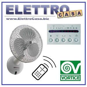 Vortice ventilatore da parete con pale telecomando for Ventilatore da soffitto silenzioso