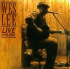 Live and Alone by Wes Lee (CD)