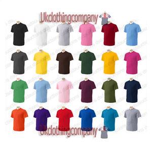 Gildan-Ultra-Cotton-short-sleeve-t-shirt-mens-womens-tops-S-to-5XL