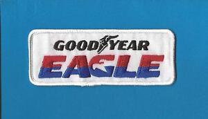 Vintage 1980's Goodyear Eagle Tires NASCAR Sponsor Sew On Jacket Hat Patch