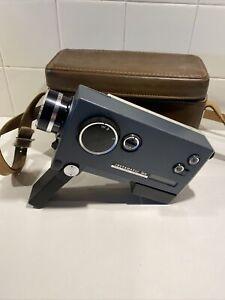Vintage Kodak Instamatic M6 Movie Camera and Genuine Leather Case