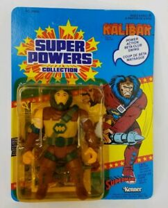 Figurine d'action Kalibak Super Powers Vintage Dc Comics Kenner 1985 Moc