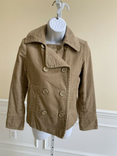 GAP Women Lined Button Front Cordoroy Jacket - XS