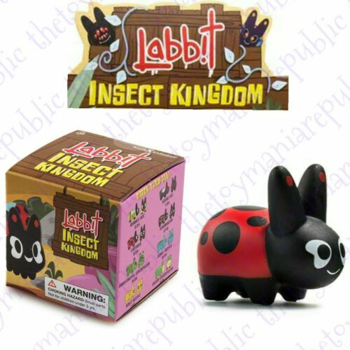 Kidrobot Frank Kozik Labbit Insect Kingdom Vinyl Mini Series Figure Ladybug 2//24