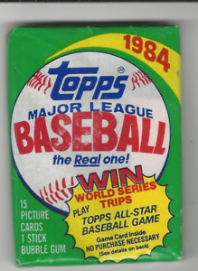 POSSIBLE MATTINGLY ROOKIE 1984 TOPPS BASEBALL WAX PACK