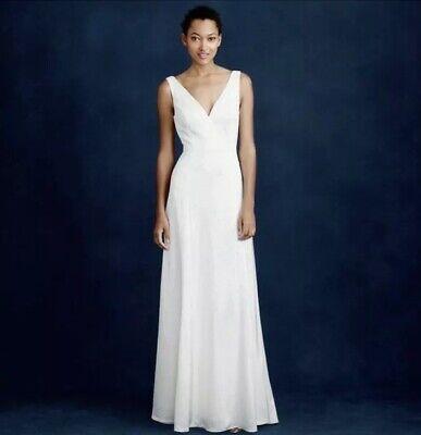 NWT $650 J.Crew Bridal Percy Wedding Dress Gown 8 Last One!