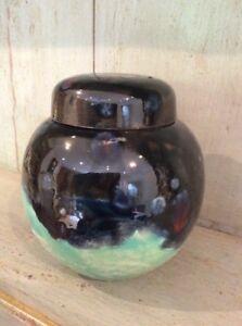 Pottery-Stoneware-Textured-Vase-Colourful-amp-Unusual
