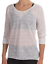 NEW prAna Women/'s Active Relaxed Fit 3//4 Sleeve Tranquil Top Size Medium $59