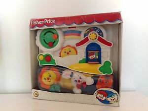 FISHER-PRICE-SOFT-ACTIVITY-CENTRE-VINTAGE-NEW-NEUF
