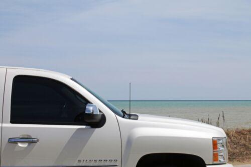 "94-98 Dodge Ram Truck 5500 15/"" Black Spring Stainless AM//FM Antenna Mast Fits"