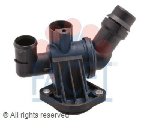 Engine Coolant Thermostat Kit FACET 7.8668 fits 05-09 Audi A4 Quattro 2.0L-L4