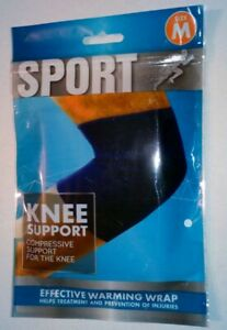 NEW-Elastic-Neoprene-Knee-Support-Strap-Injury-Arthritis-Gym-Sport-Running-M-UK