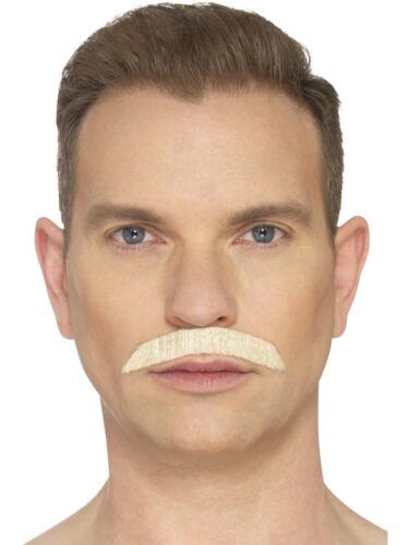 Iconic Rock Star 80/'s Freddie Mercury Moustache Hand Knotted Fancy Dress