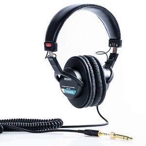 SONY-Stereo-Headphone-MDR-7506-Black-New-in-Box
