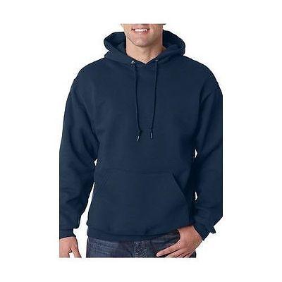 Plain Hooded Sweatshirt Men Women Pullover Hoodie Fleece Cotton Blank New Heavy