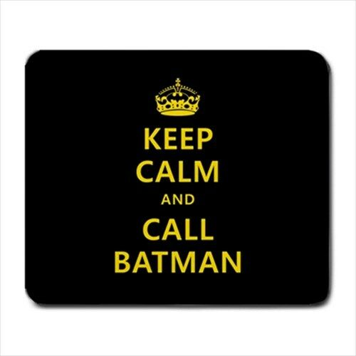 Great Gift Keep Calm and Call Batman Large Mousepad mouse pad mat