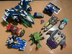 Transformers Energon Megatron 2003 + Insecticon Chrome Horn (Forest Type)+.. LOT